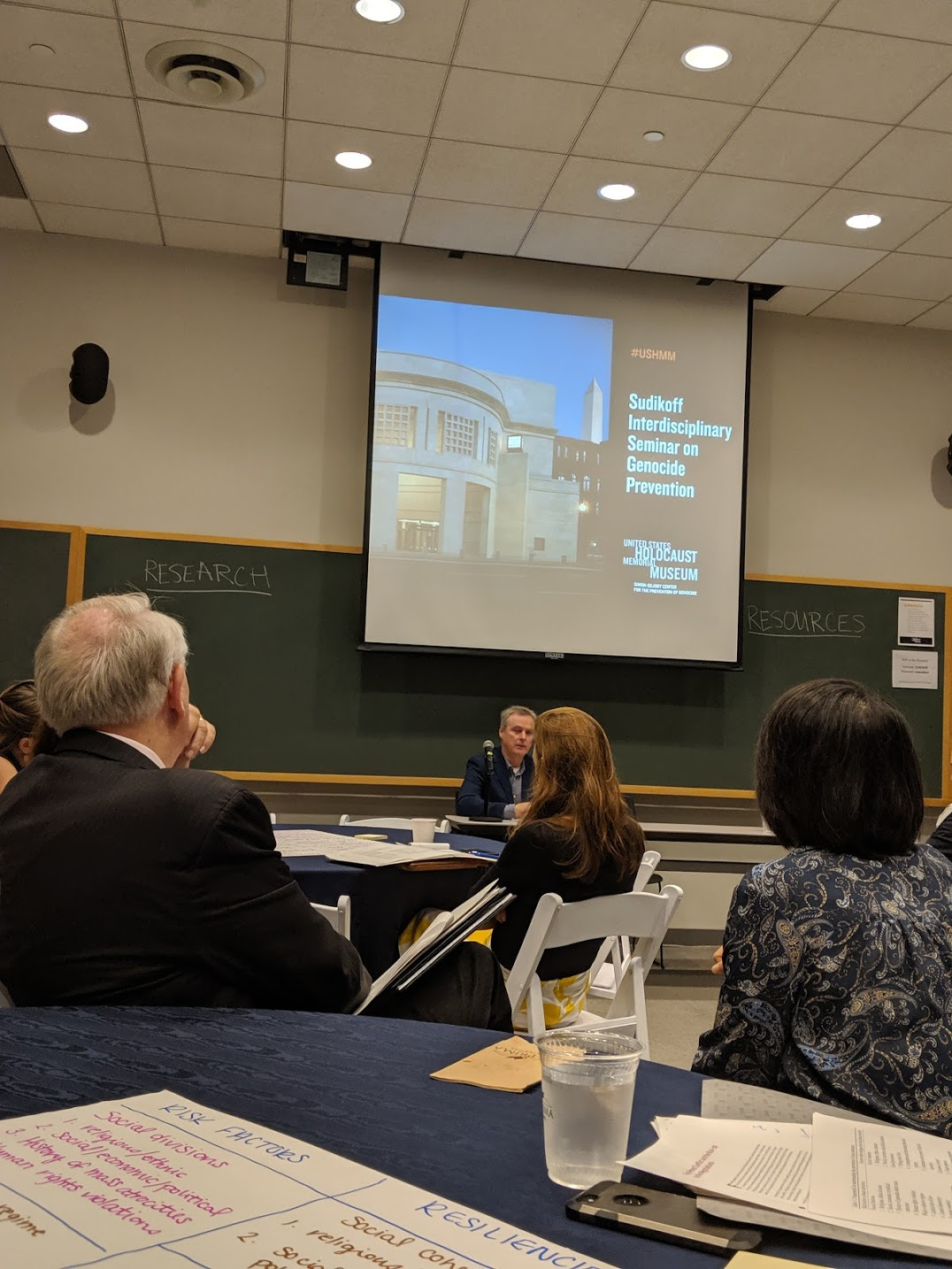 2019 Sudikoff Seminar on Genocide Prevention, US Holocaust Memorial Museum