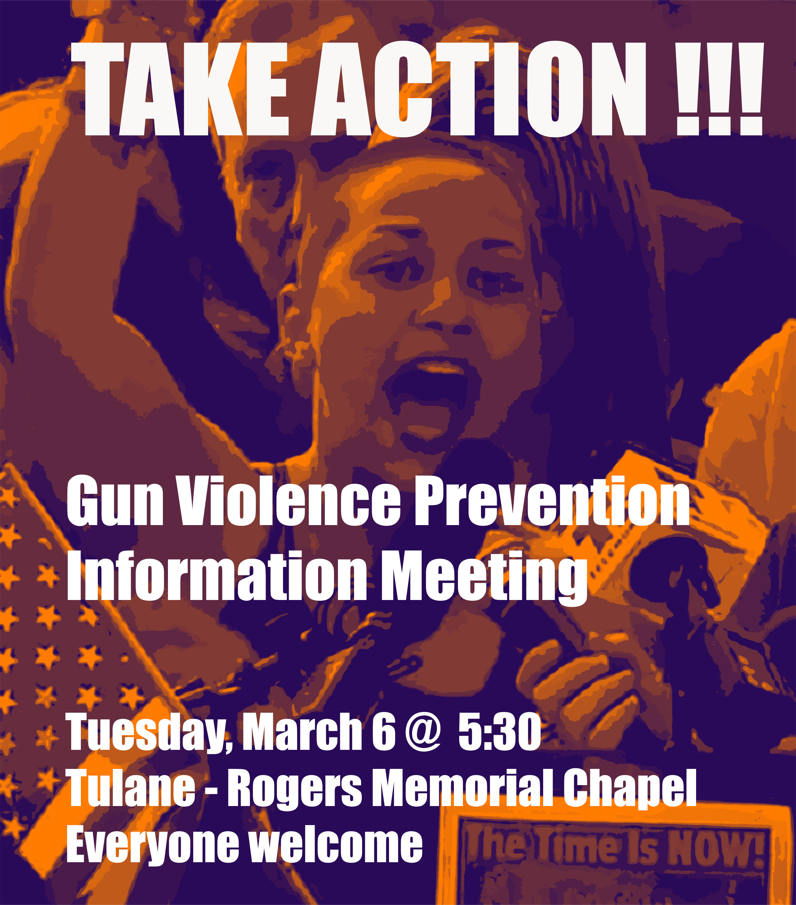 Gun Violence Prevention Information Meeting, Amnesty International