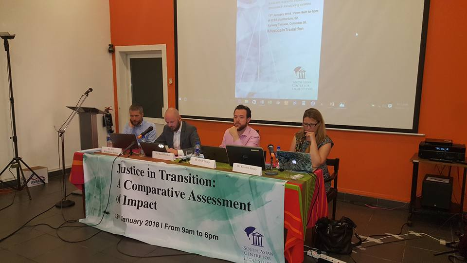 Justice in Transition: A Comparative Assessment of Impact – Colombo, Sri Lanka
