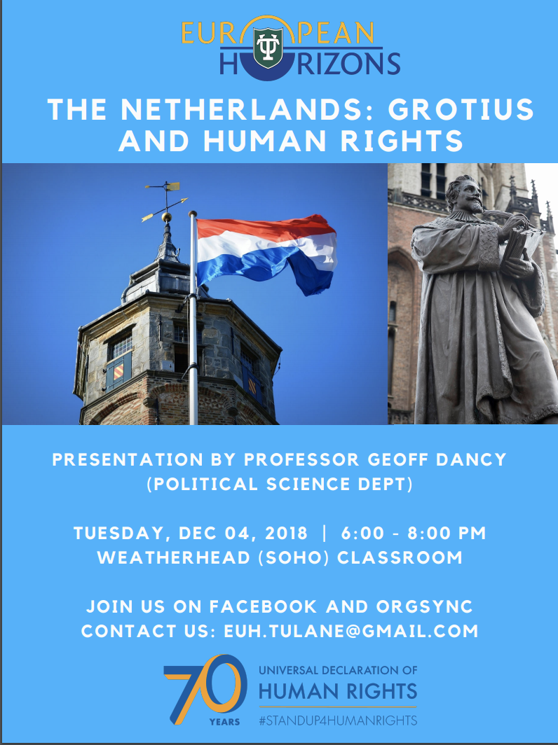 The Netherlands: Grotius and Human Rights